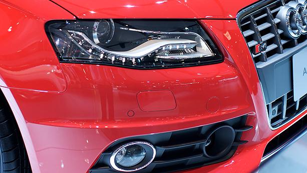 2009 Audi S4 Headlight